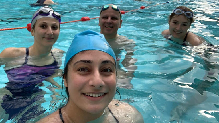 Our Swimathon Challenge