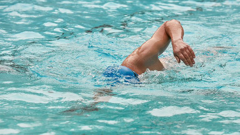 Top 3 benefits of swimming for people with disability